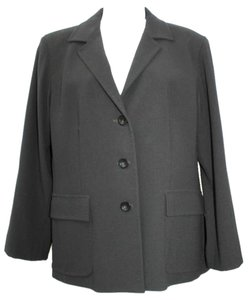 Max Mara Wool Jacket 12 BLACK Blazer