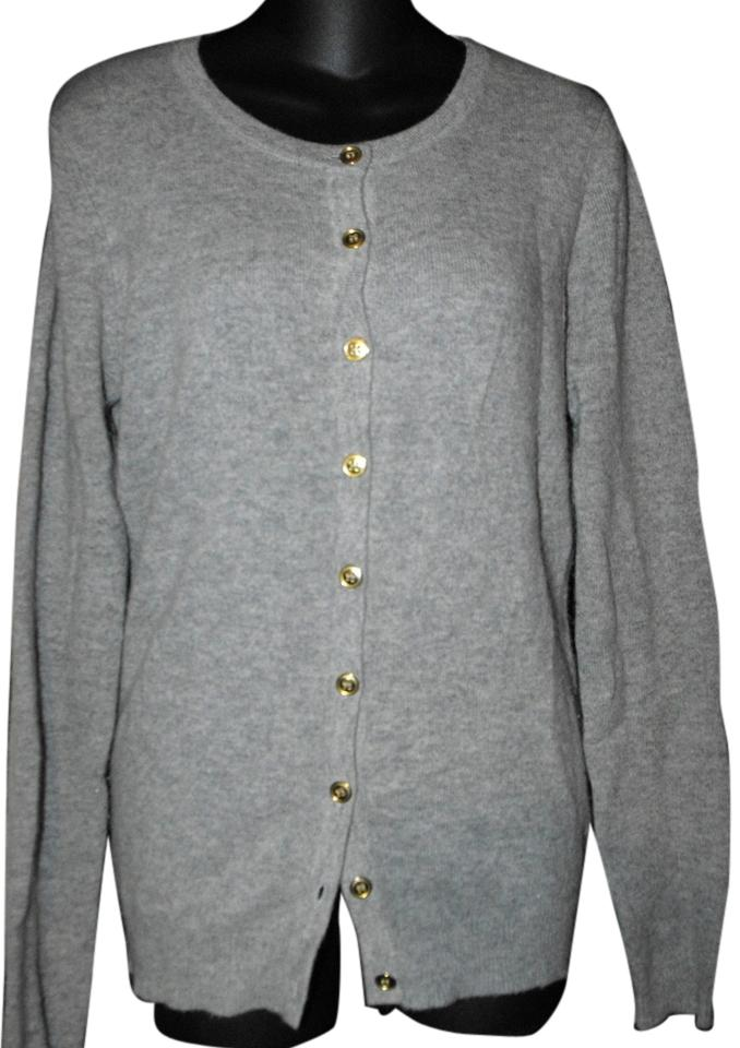 Evelyn Grace Gray Cashmere Sweater/Pullover Size 10 (M) - Tradesy