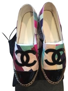 Chanel Espadrille 16c Cruise 2016 multicolor Flats