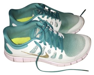 Nike Gym Custom Tiffanys blue & teal Swarovski Crystal Nikes Athletic