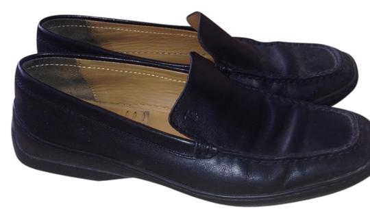 Tod's Driving Loafers Black Flats