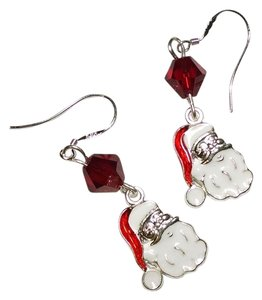 Other New Handmade Christmas Santa Clause Dangle Earrings J1439