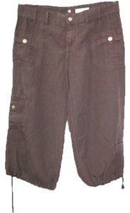 LaROK La Rok Cropped Pants Capris BROWN
