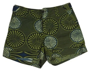 Anthropologie Mini/Short Shorts Green