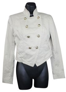 Juicy Couture Cropped Cotton LIGHT BROWN Jacket