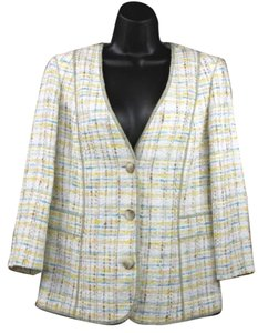 Ellen Tracy Tweed Jacket Blazer