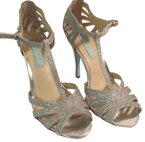 Betsey Johnson silver Formal