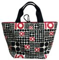 Kate Spade Tote in Black White Red