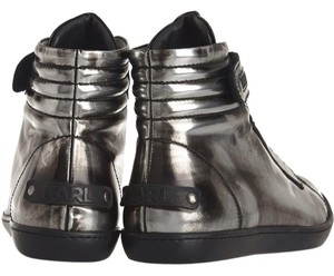 Karl Lagerfeld Gunmetal Athletic
