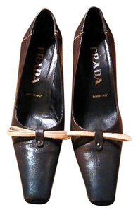 Prada Chocolate Pumps