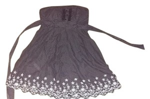 Other short dress Floral Polka Dot Vintage Strapless on Tradesy