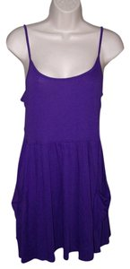 Ambiance Apparel short dress Purple Small Junior on Tradesy