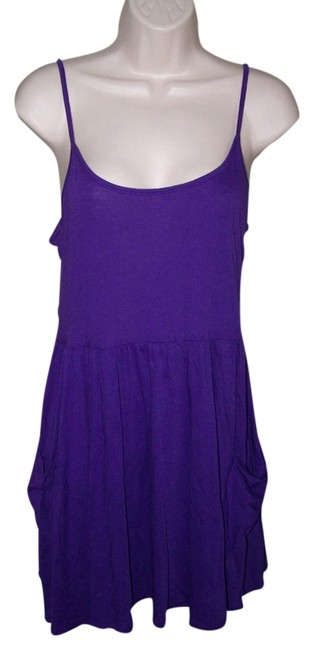 Ambiance Apparel short dress Purple Small Junior Spaghetti Straps on Tradesy