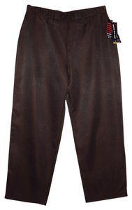 Briggs New York Straight Pants Dark Brown
