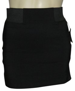 Luv Me More Mini Skirt Black
