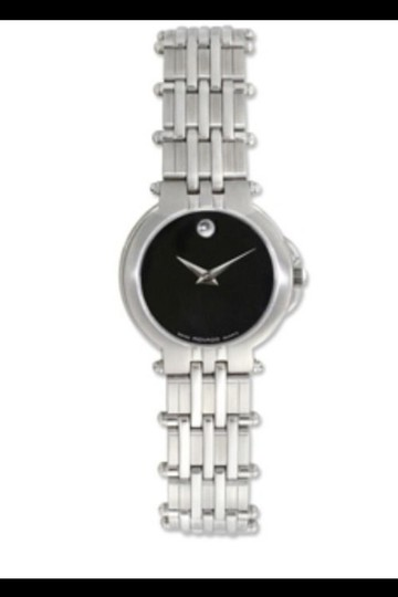 Movado Authentic Movado Women's Museum Watch Stainless Steel Black Face