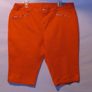 Skye's the Limit Capris Orange