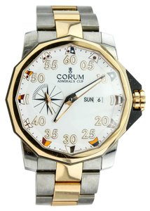 Corum Admiral Cup 947.931.05 Titanium and 18K Solid Gold Watch