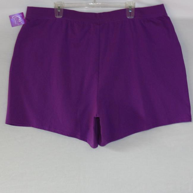 Just My Size Purple Shorts