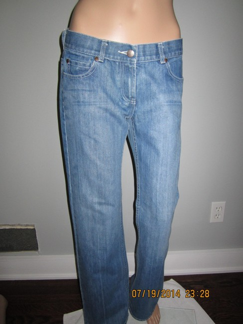 French Connection Simple Perfectly Casual Relaxed Fit Jeans-Medium Wash