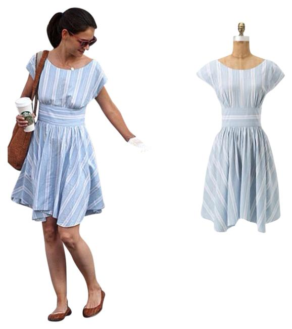 Preload https://item3.tradesy.com/images/anthropologie-light-blue-with-white-allegra-boatneck-short-casual-dress-size-6-s-794492-0-0.jpg?width=400&height=650