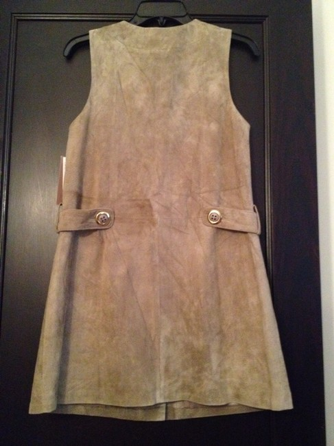 H&M short dress Beige suede on Tradesy