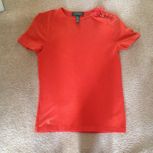 Ralph Lauren T Shirt Orange Image 3