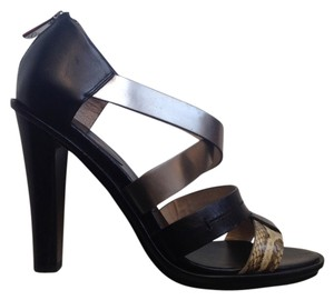 Coach Reptil Sandal Black Sandals