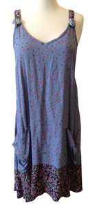 Zoe Petite short dress purple on Tradesy