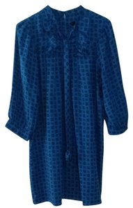 Anna Sui for Target short dress Blue on Tradesy