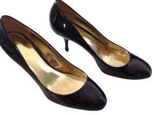 Coach Alma Alma 5.5 5.5b Patent Black Pumps