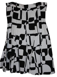 Vesti Skirt Black and white