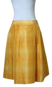 Banana Republic Skirt Mustard Yellow