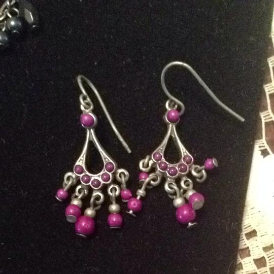Icing Set Of 6 Chandelier Earrings