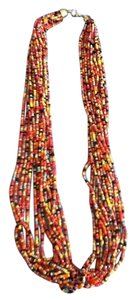 Costume beaded necklace