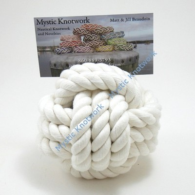 Monkey's Fist Rope Knot Table Number Holders
