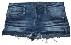 Express Mini/Short Shorts Denim Blue Jean
