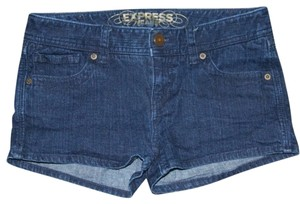 Express Dress Shorts Dark Denim
