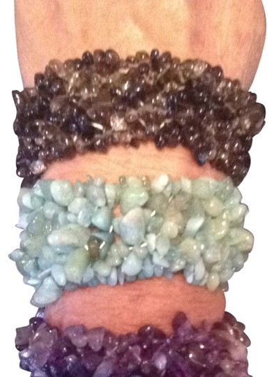 Other Set Of 3 Elastic Quartz Bracelets