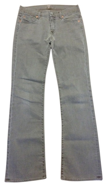Item - Green Light Wash Boot Cut Jeans Size 28 (4, S)