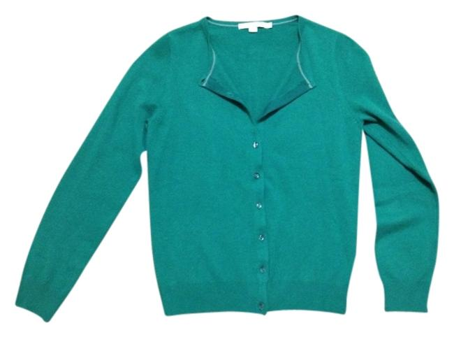 Preload https://item4.tradesy.com/images/boden-green-crew-neck-cashmere-cardigan-size-6-s-795858-0-0.jpg?width=400&height=650