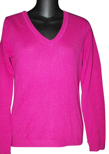 Preload https://item3.tradesy.com/images/fenn-wright-manson-fushia-pink-s-small-neck-cashmere-sweaterpullover-size-6-s-7958902-0-3.jpg?width=400&height=650