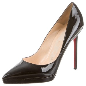 f5f8be70628 Christian Louboutin Black Patent Leather Pigalle Plato 120 Stiletto 42  Pumps Size US 12 Regular (M, B)