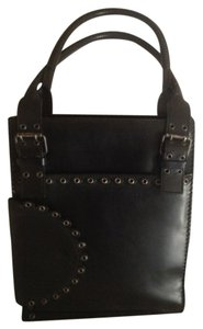 Saint Laurent Rivets Gypsy Collection Tote in Black