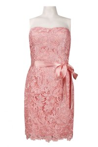 Adrianna Papell Tea Rose 041889200 Lace Cocktail Reception Bridesmaid Mob Dress