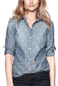 Gap Button Down Shirt Denim