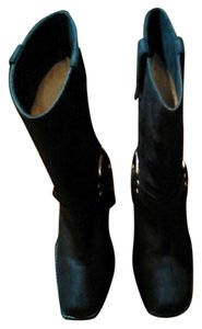 Michael Kors Midcalf Black Boots