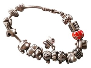 PANDORA Authentic Pandora Bracelet with Charms