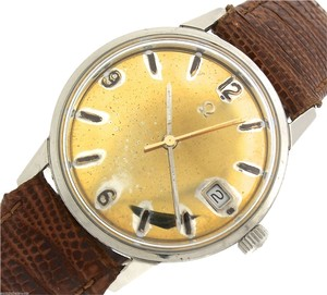 Omega Vintage Mens 1969 Omega Seamaster Automatic 166.037 SP Stainless Gold Date Watch