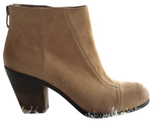 Vince Camuto Suede Almond Toe Beige Boots